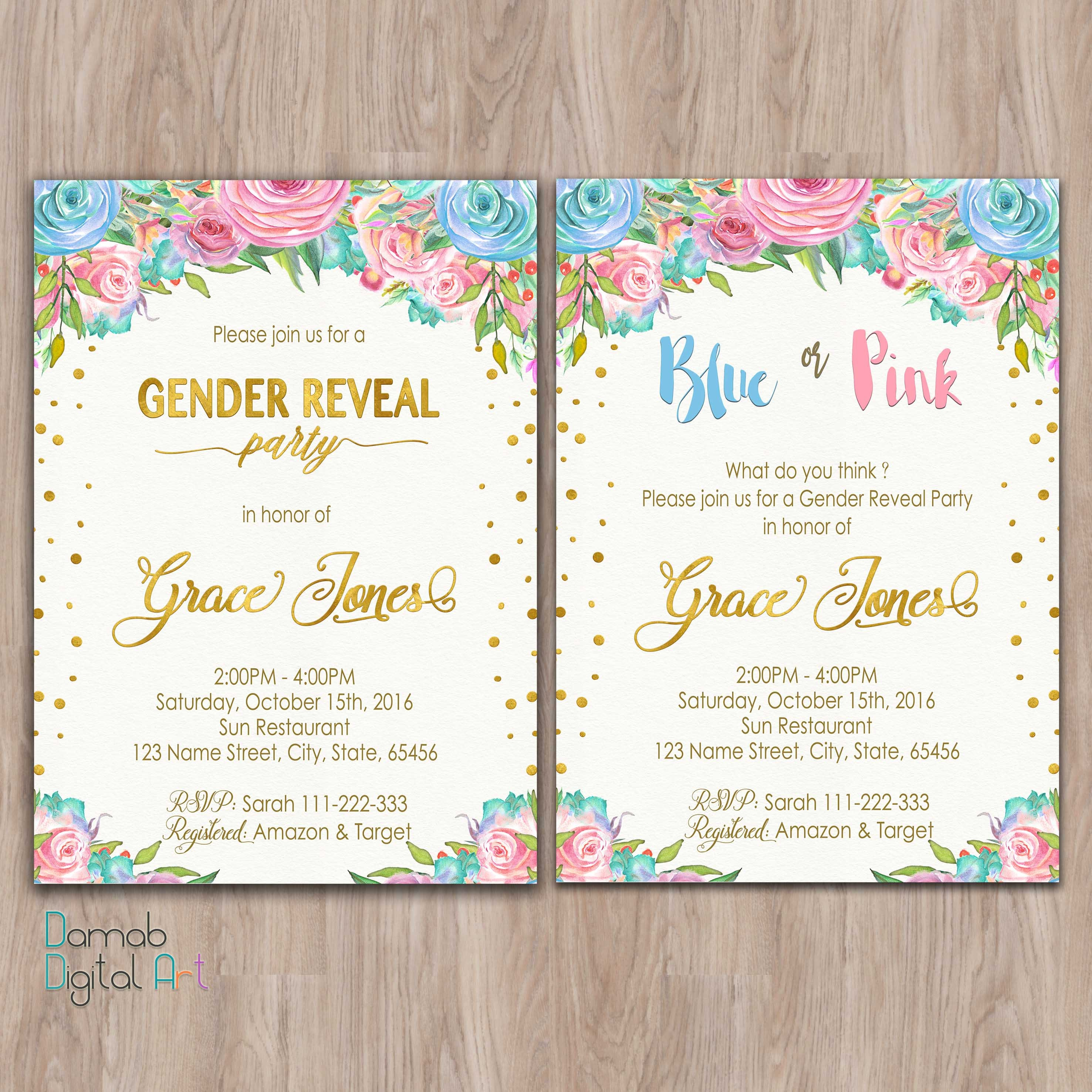 It's just a photo of Universal Free Printable Gender Reveal Party Invitations