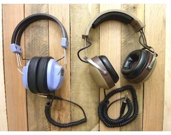 KOSS K 6 ALC Stereophone Headphones Dual Volume Control Retro K/6ALC + Califone
