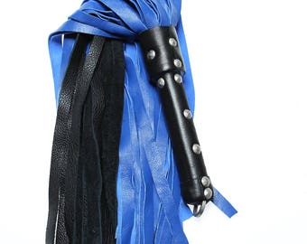 Lamb Hide Weighted Soft Thud Flogger