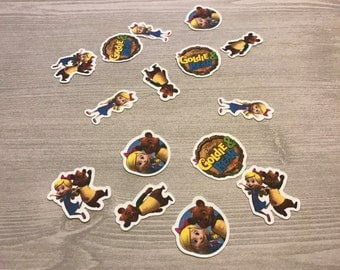 Goldie And Bear Confetti ( 100 pieces)