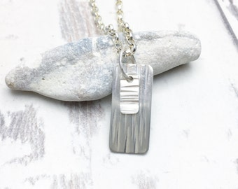 Mens Necklace, Mens pendant, Mans Necklace, Mens Dog Tags, Mens Silver Necklace, Necklace for him, Mens necklace pendant, Gift for Him,