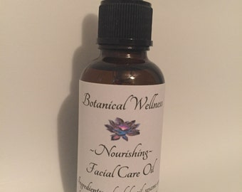 Nourishing ~ Facial Care Oil