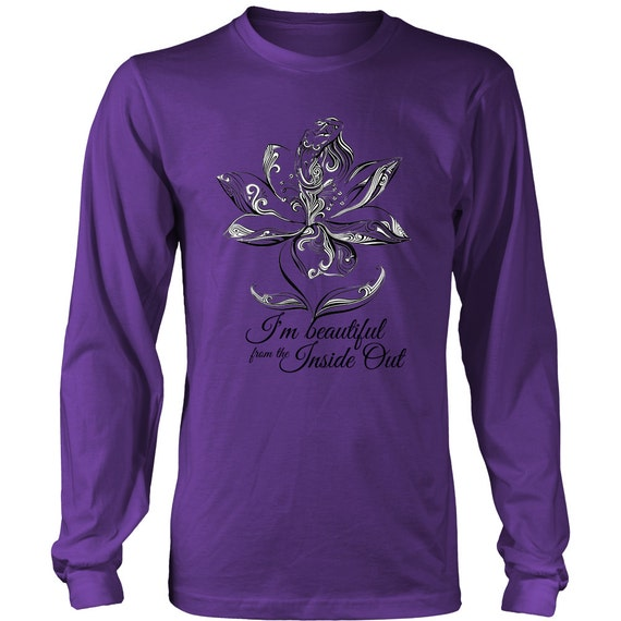 Long Sleeve Shirt - I'm Beautiful From Inside Out 2