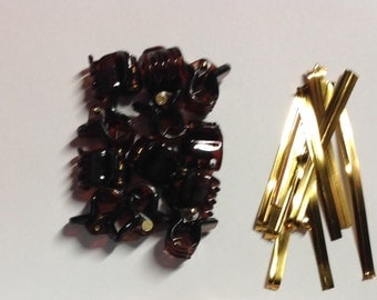 Beard Baubles Ornaments Clip Conversion Kit 6 or 12 Piece Set