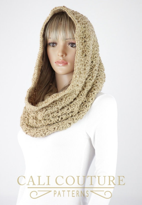 Infinity Scarf Hood Pattern - Vienna Crochet Infinity Scarf Snood ...