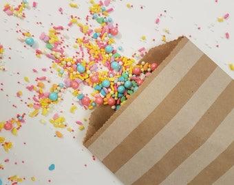 Kraft paper treat bags