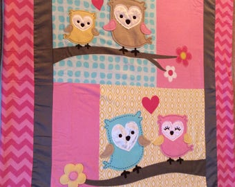 OWLS, FLOWERS and HEARTS