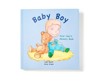 Baby Boy First Year's Memory Book