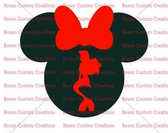 Ariel Mickey Head SVG