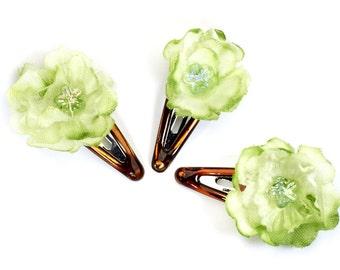 Barrettes, hair clips, hair flowers, hair flowers
