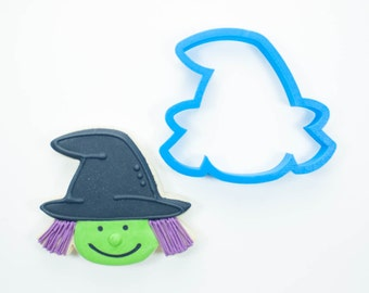 Witch Head Cookie Cutter