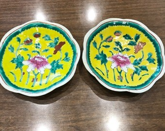 Mid-century chinese plates