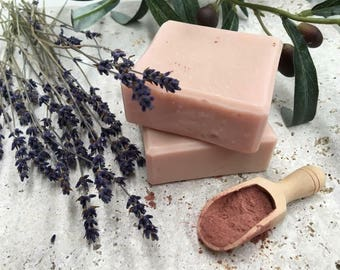 Lavender Clay Handmade Olive oil Soap