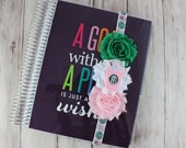 Frappuccino Pink and Green Planner Band
