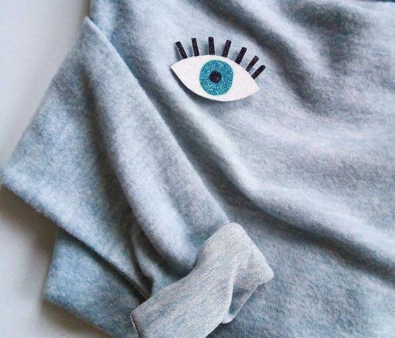 Eye that sees everything - Handmade - Brooche - La Rochelle