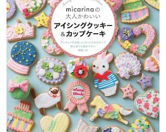 Japanese Cookie Icing Book - Micarina Cookies Decoration - Decoración de Galletas