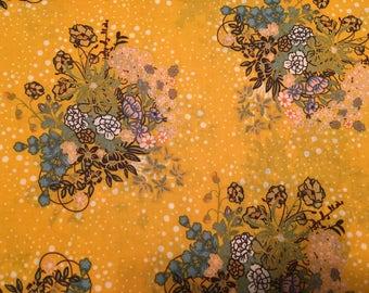 ART GALLERY FABRIC in Viole Praline Honey designed by Pat Bravo V-111. Choose your cut.