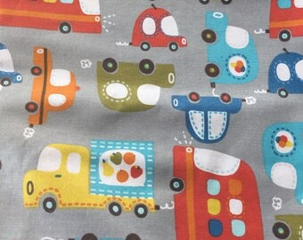 Cars Fabric, Boy Fabric, Cars Driving Fabric Quilting Cotton
