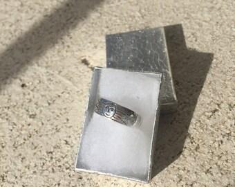 Silver Sun Ring
