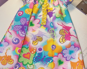 Butterfly and Fairy    Dress and headband  Size 12mo-18mo  18in length