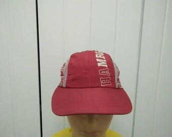 Rare Vintage HAMBURG Cap Hat Free size fit all