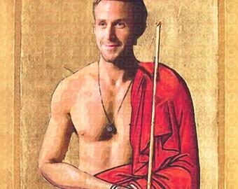 Ryan Gosling Prayer Candle