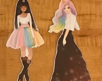 Unicorn Girls Bookmarks