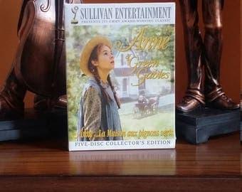 Anne of Green Gables trilogy set dvd