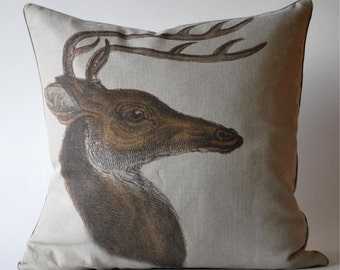 Vintage Stag Pillow