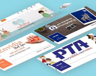 Social Media Cover Design, Esty Store Cover Design, Custom Header Design.