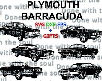 Plymouth Barracuda U2013 Plymouth   Cuda U2013 Plymouth Hemi   Muscle Car   Car  Vector
