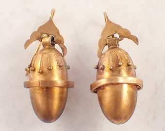 Victorian Gold Filled Earrings