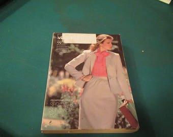 1982  ** Montgomery Ward ** Spring and Summer Catalog ** sj
