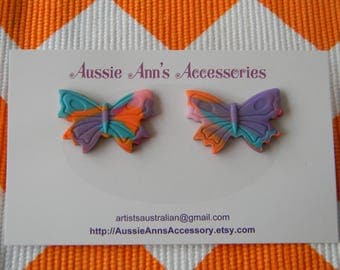 Beautiful Butterfly Stud Earrings