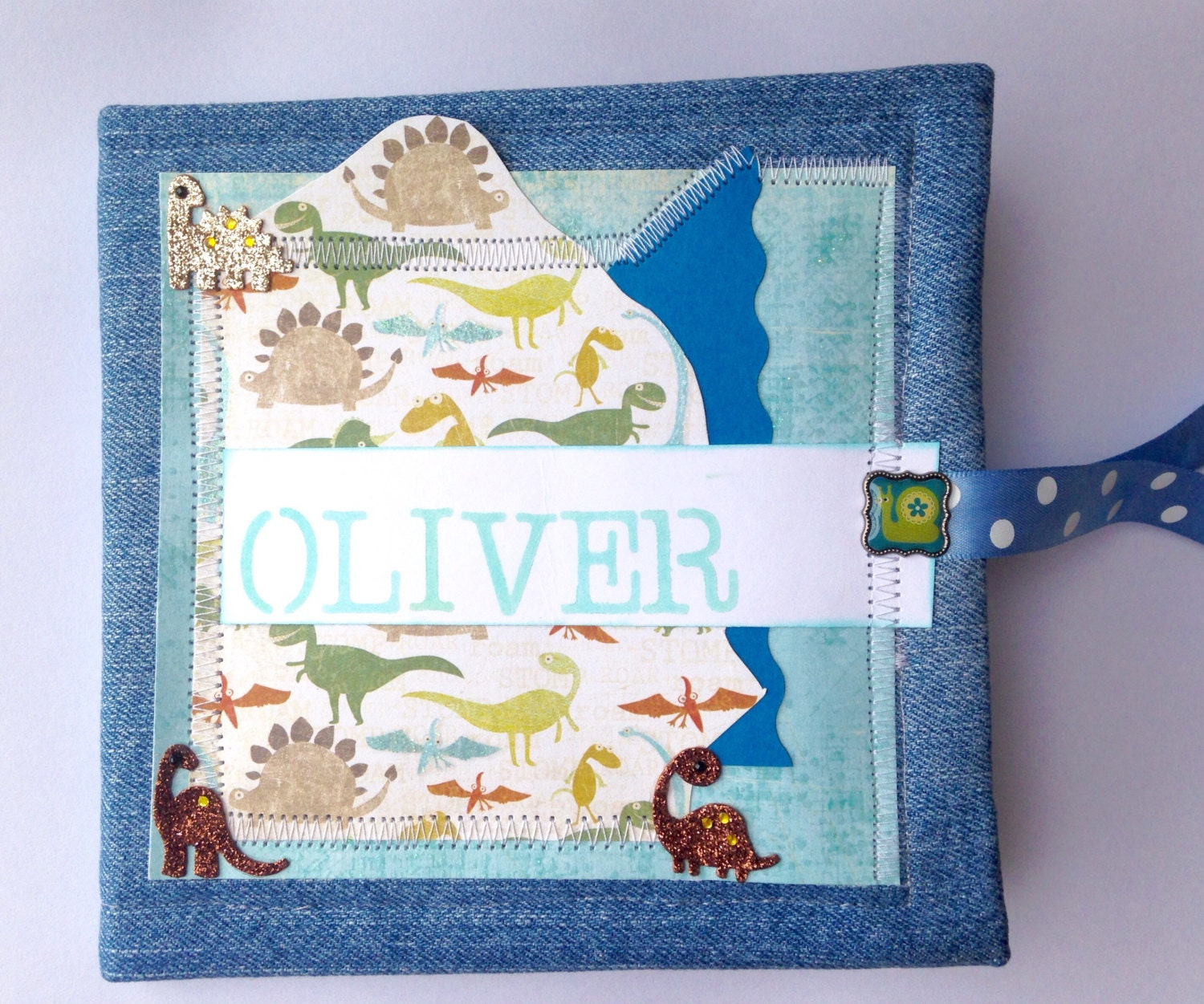 How to scrapbook baby book - Sold By Magdascreationsuk