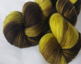 Handdyed Merino Single yarn superwash 100 g
