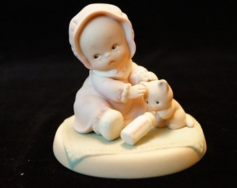 """Retired Enesco Memories of Yesterday """"Bless Em"""" Mabel Lucille Atwell Collection 1994."""