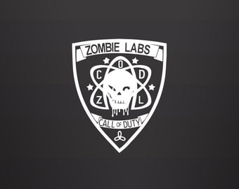 Zombies Decal - Call of Duty Decal / Call of Duty Zombies / CoD Zombies / Sticker