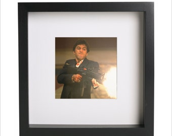 al pacino scarface photo print use in ikea ribba frame looks great framed for gift free shipping 5