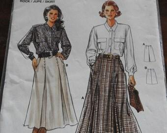 Burda 4158 Women's Skirts Sewing Pattern
