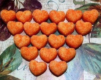 Homemade 20 Heart Shaped Horse Sugar Cube Treats Giddy Up Horse Tack Pet Treats Horse Snacks