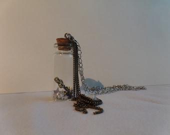 SALE!! Key Bottle Necklace