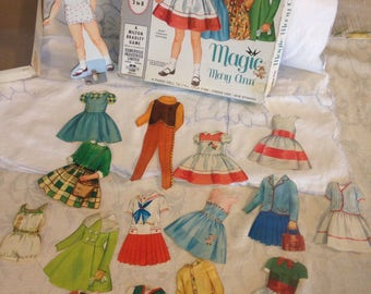 Magic MaryAnn magnetic paper doll