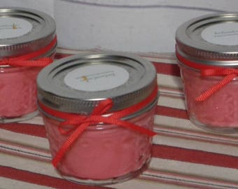 4oz. Quilted Ball Jar Scented Soy Candle