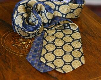 Zylos George Machado two silk ties