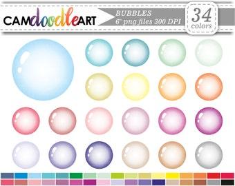 Bubble Clipart,Soap Bubbles Clipart,Bathtime Clipart,Bath,Colorful Bubbles,Scrapbooking,Planner Clipart,Sticker Clipart,png file