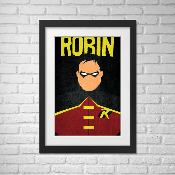 Robin Poster - Illustration  / Robin Poster / Robin / The Boy Wonder