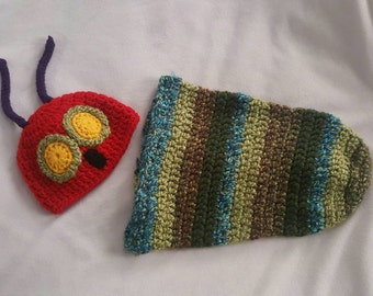 Newborn inspired Hungry Caterpillar  Cocoon set