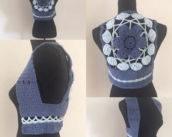 Hand-made vest for women size 34/36.