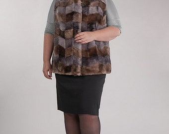 Sheepskin Fur Vest Made To Order. You Pay Only When It Is Ready For Delivery!!